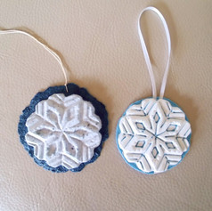 Lg. Snowflake 1 and 2