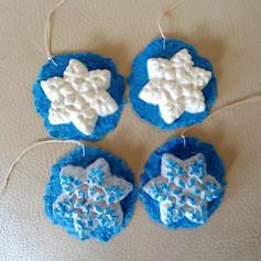 Small snowflake 1-4