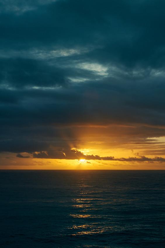 Sunrise Over Hilo