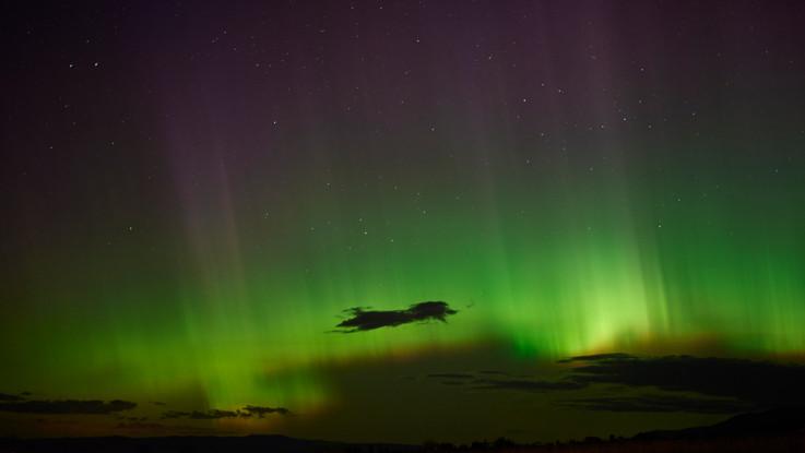 Northern Lights Over Bozeman