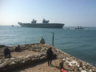 Lizzie Leaves Port