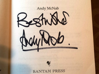 ANDY McNAB NIGHT - What a great talk.
