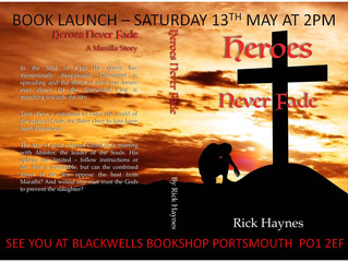 BLACKWELL'S IN PORTSMOUTH LAUNCH PARTY
