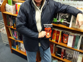 EVIL NEVER DIES NOW AVAILABLE IN BLACKWELLS BOOKSHOP