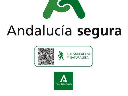 """OBTENEMOS EL DISTINTIVO """"ANDALUCÍA SEGURA"""" PARA ACTIVIDADES DE TURISMO ACTIVO Y DE NATURALEZA"""