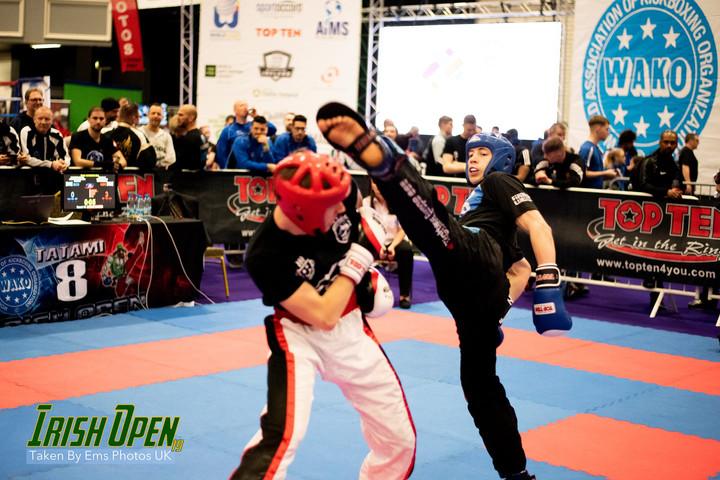 Multiple GB Kickboxing Golds at the Irish Open