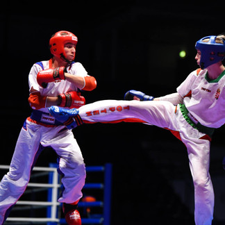Everill takes double world title at WAKO World Championships