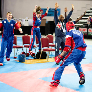 Who are the latest WAKO British Champions?