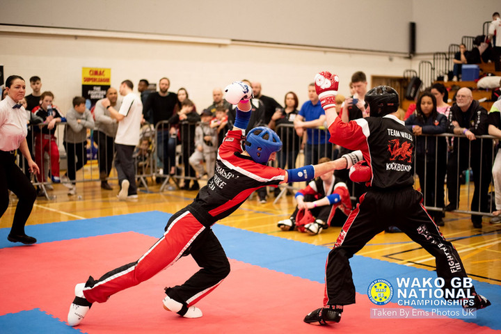 Kickboxing Champions crowned at WAKO British Nationals
