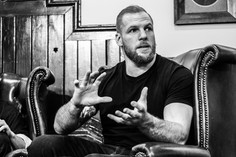 Retired rugby star James Haskell turns to MMA