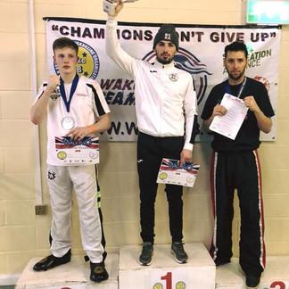 Alex Barrowman Jr is a double title holder