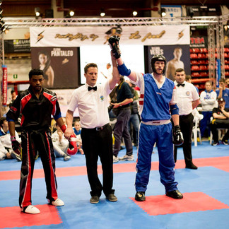 Chris Aston brings home double GB gold at Pointfighting Cup