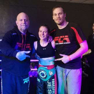 Jess Roper takes two 2019 Kickboxing titles