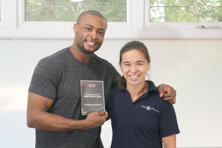 Neck strength programme tailored to combat sports athletes is launched by MMA pioneer Rosi Sexton