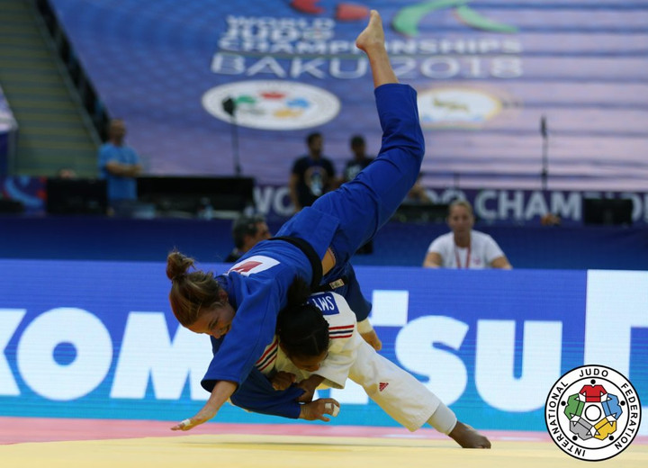 Nekoda Smythe-Davis wins first GB Judo World Silver medal since 2009
