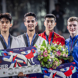 Taekwondo medals from Rome and Austria for Team GB