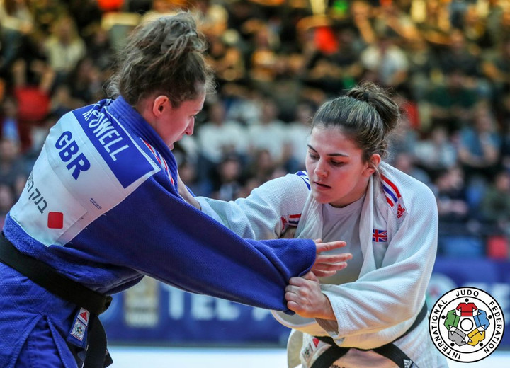Jemima Yeats-Brown takes Judo Bronze in Tel-Aviv