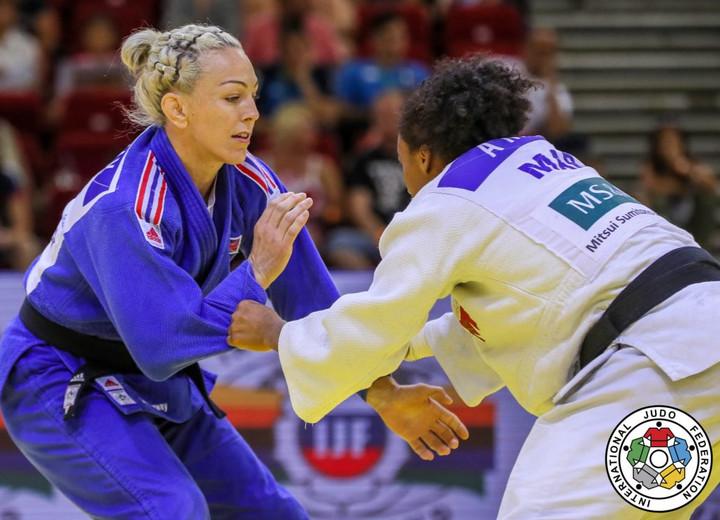 Bronze delight in Budapest for GB Judo