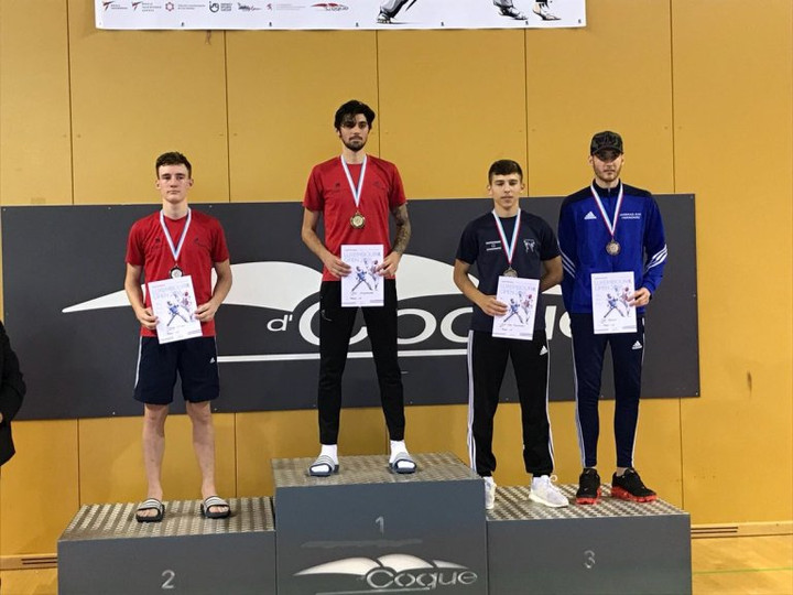 5 GB Taekwondo medals at Luxembourg Open