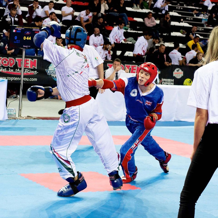 Team Gold for GB at WAKO World Point Fighting Championships