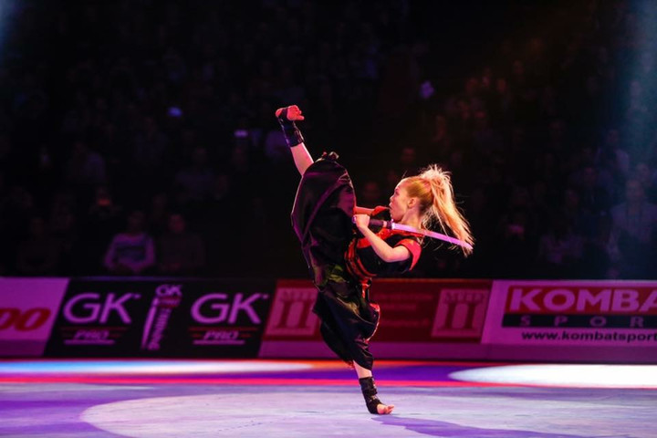 Fight like a Girl! - Sword Sensation Jesse Jane Mcparland talks to Martial Arts Online