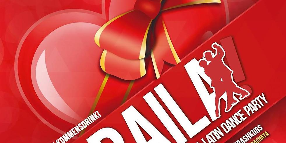 Baila - die Latinparty am Mittwoch Valentins Edition