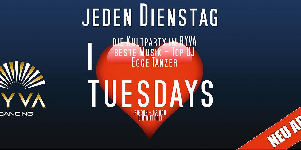 I Love Tuesdays mit DJ Pietro