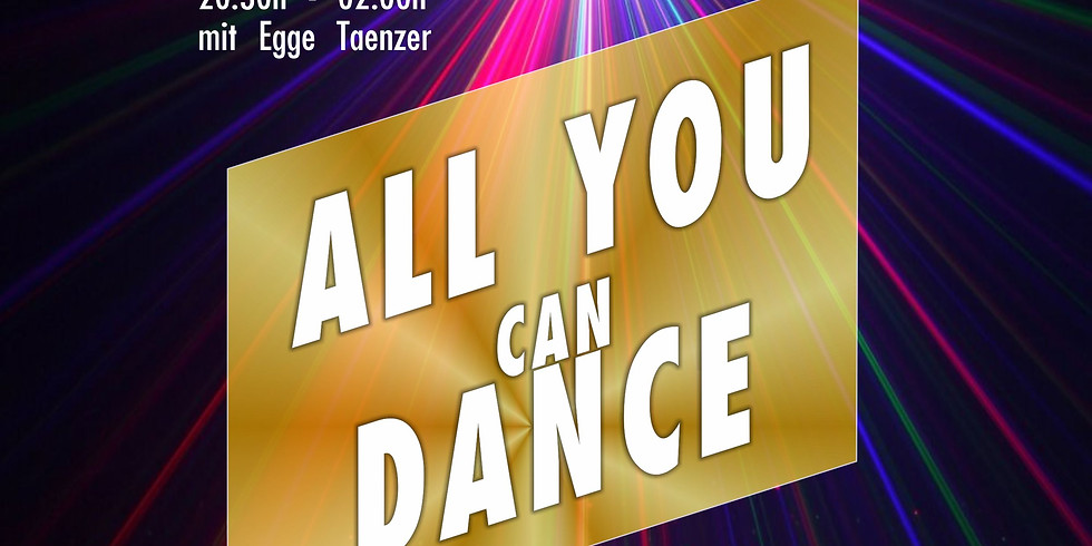 All you can dance by DJ T