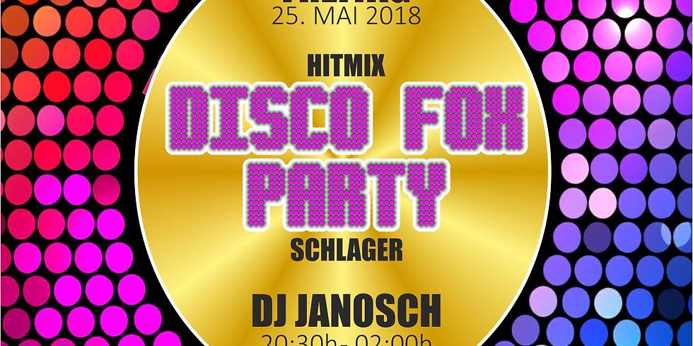 Disco Fox Party mit DJ Janosch