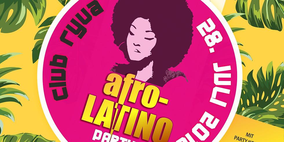 Afro Latino Party by DJ Sebastian & NZO Pablo