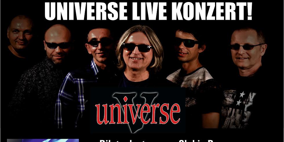 Live Konzert mit der Band Universte