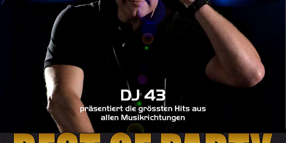 Best of Party mit DJ 43
