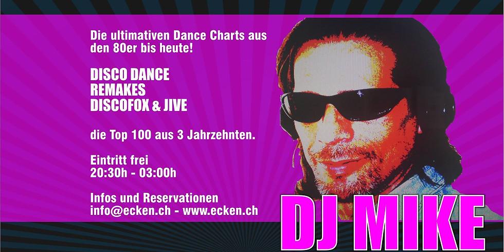 Dance Chart Night mit DJ Mike