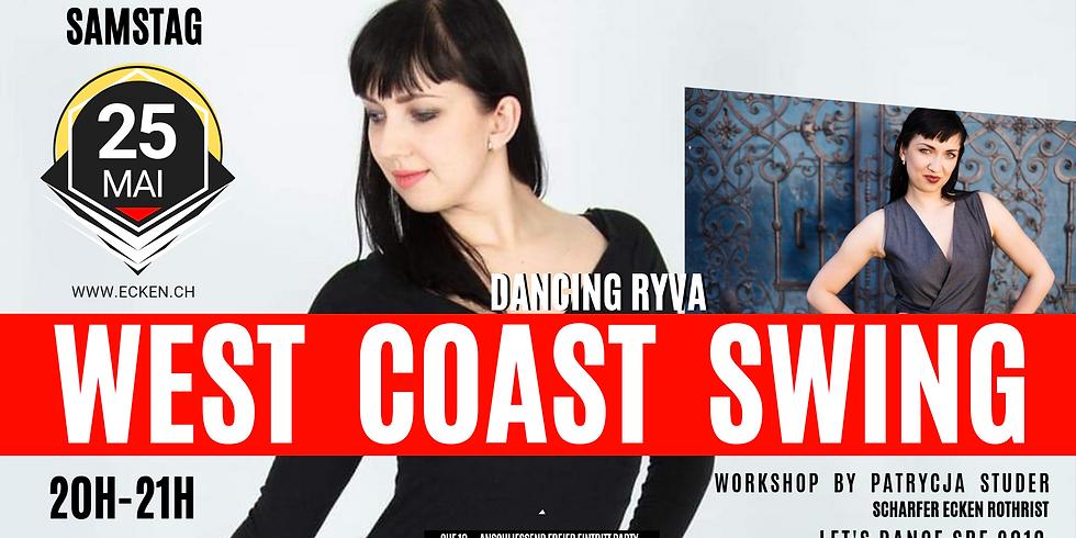 West Coast Swing Workshop mit Patriycja Studer
