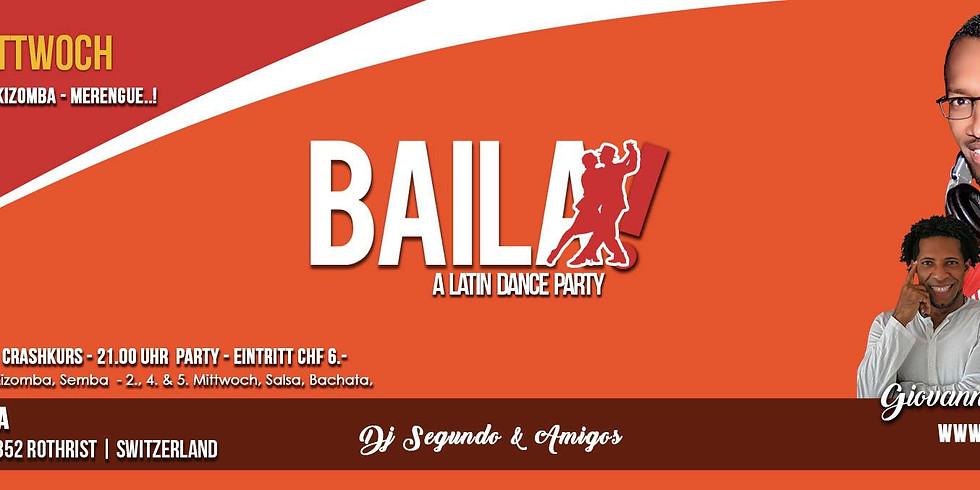 Baila - die Latinparty am Mittwoch