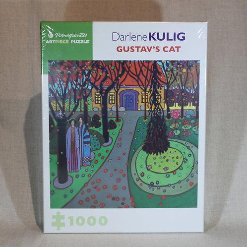 Darlene Kulig: Gustav's Cat 1000-Piece Jigsaw Puzzle