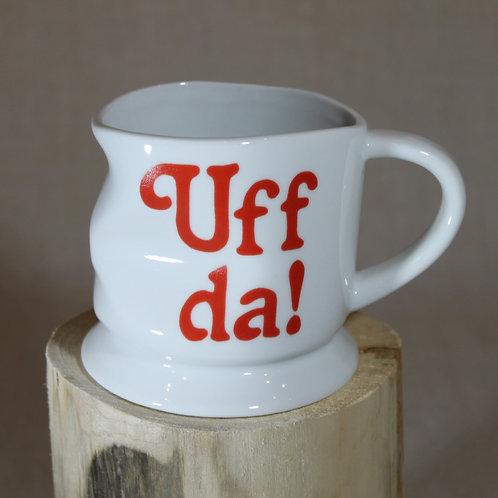 Smashed Uff Da! Mug