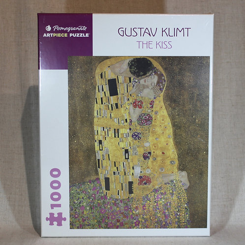 Gustav Klimt: The Kiss 1000-Piece Jigsaw Puzzle
