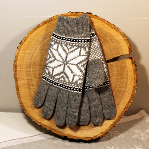 Rokk Norway Gloves - Light Gray