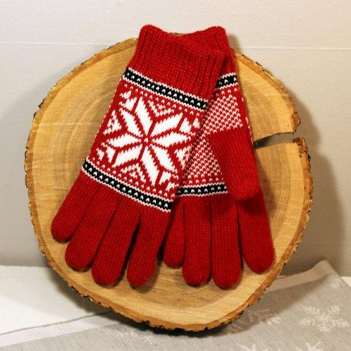 Rokk Norway Gloves - Red