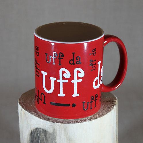 Uff Da! Mug - Red