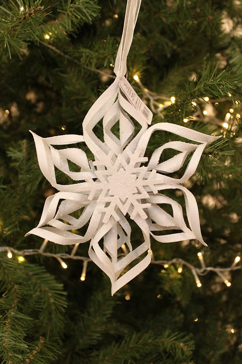 "8"" Snowflake Ornament"