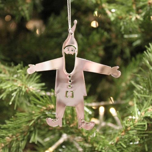 Tomte Metal Ornament