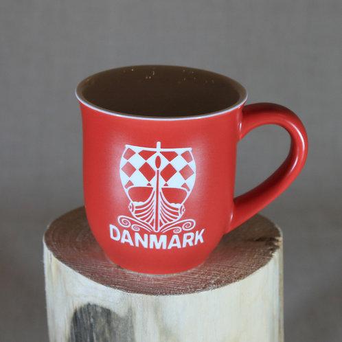 Etched Danmark Mug
