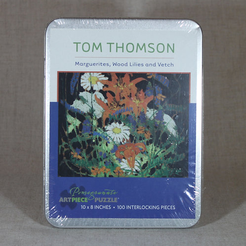 Tom Thomson: Flower 100 Piece Puzzle