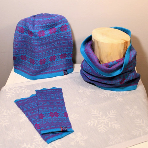 Setesdal Knits - Turquois & Purple