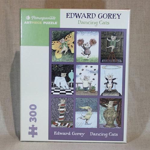 Edward Gorey: Dancing Cats 300-Piece Jigsaw Puzzle