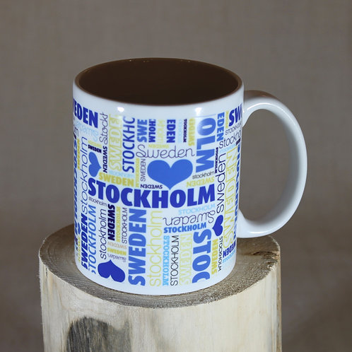 Sweden Wordle Mug