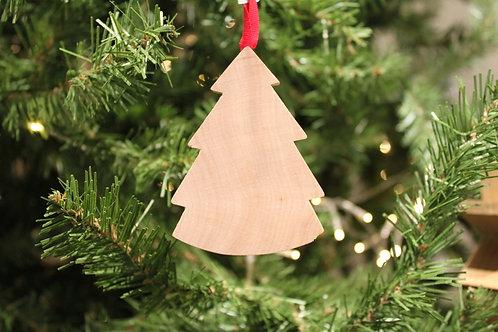 Natural Christmas Tree Ornament