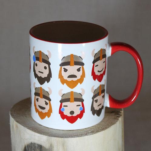 Viking Emoji Mug